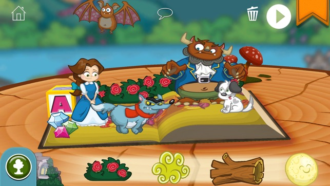 ‎StoryToys Beauty and the Beast Screenshot