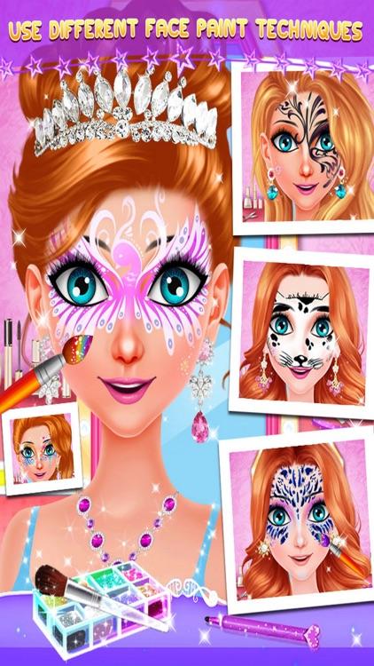Face Paint Makeup Party Salon