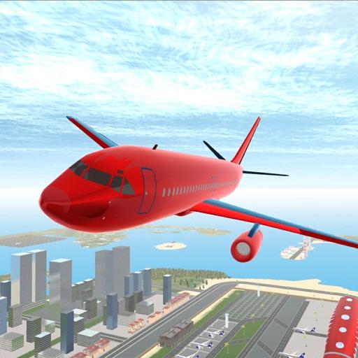 Симулятор полета аэропорта 3D.