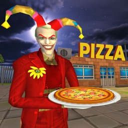 Angry Clown Fun Pizza Delivery
