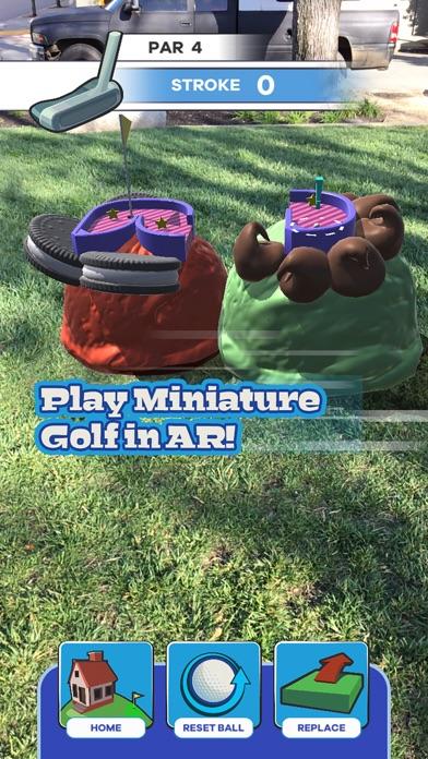 Putt Putt World - AR Mini Golf screenshot 3