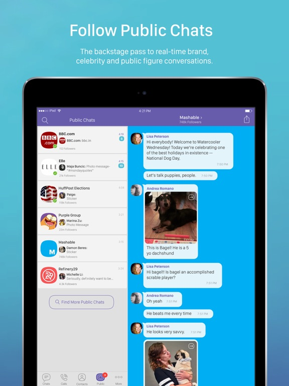 Viber: Secure Chats & Calls iPad