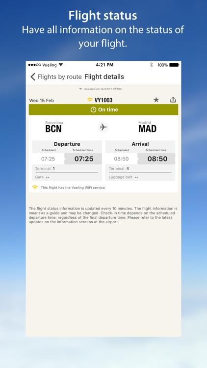 Vueling Airlines-Cheap Flights screenshot-3