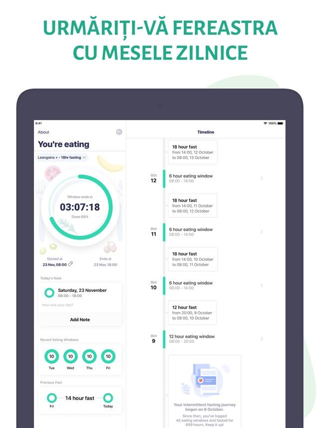 aplicație pentru provocarea pierderii în greutate)