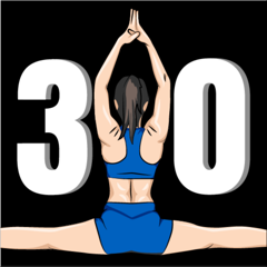 Spagat Lernen in 30 Tage
