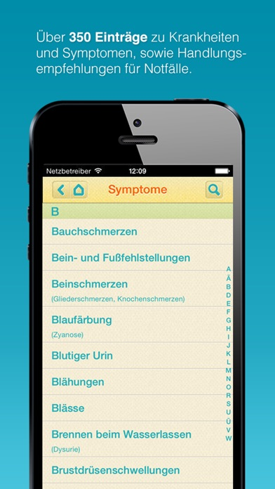 Screenshot for MediKid - Kinderkrankheiten in Germany App Store