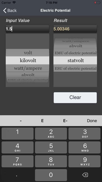 Universal Converter lite screenshot-3