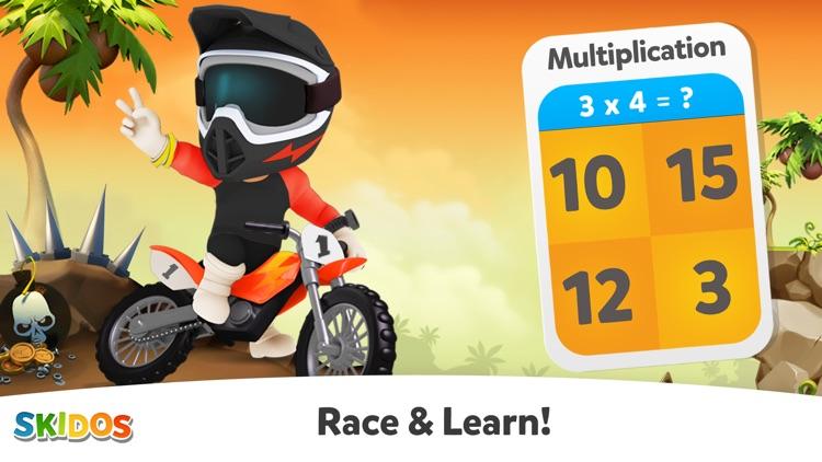 Cool Math Games: Kids Racing screenshot-0