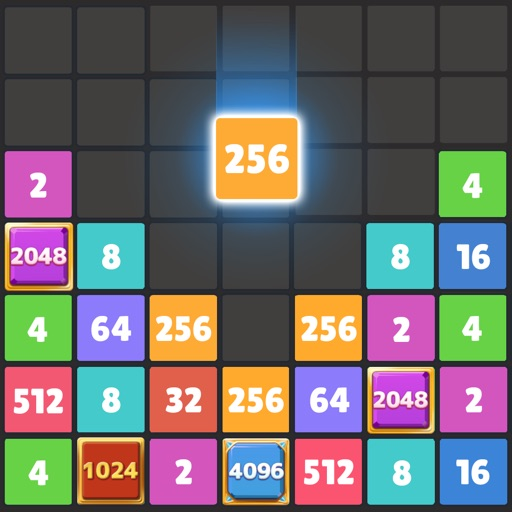 Drop The Number : Merge Puzzle