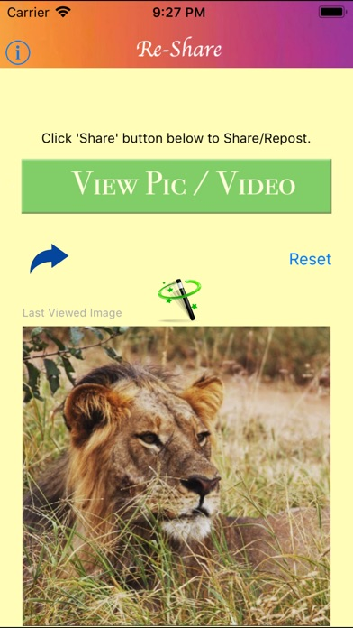 Screenshot for Re-Share for Instagram in United States App Store