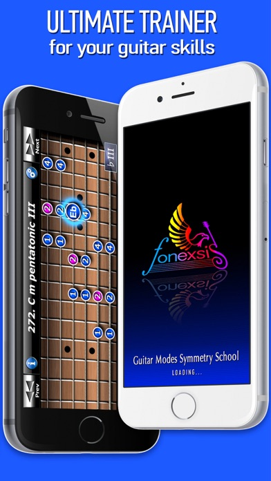 Screenshot for Guitar Modes Symmetry School in Chile App Store