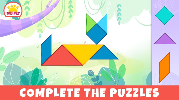 Pixel & Tangram games for baby