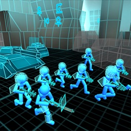 Stickman Simulator: Neon Tanks