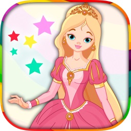 Princess - coloring book