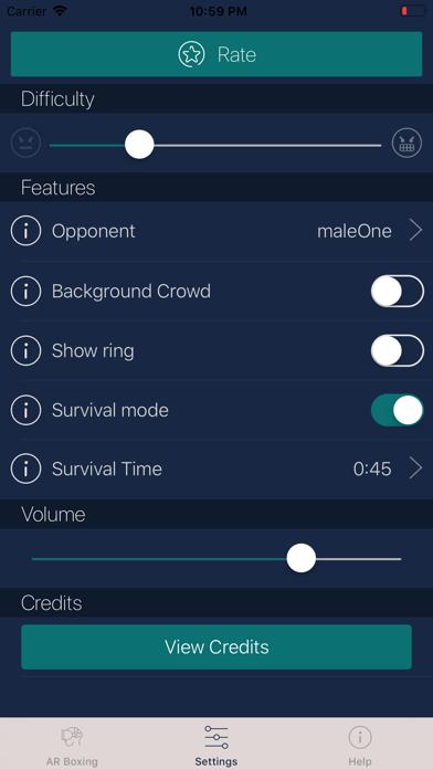 AR Boxing screenshot one