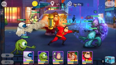 Screenshot for Disney Heroes: Battle Mode in United States App Store