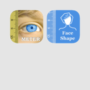 Optometry Bundle - basic tools for PD pupillary distance and Face Shape measurement