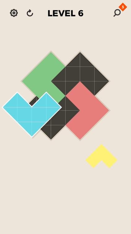 ZEN Block™-tangram puzzle game screenshot-3