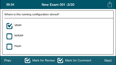 CCNA 100-101 ICND1 Exam Online screenshot three