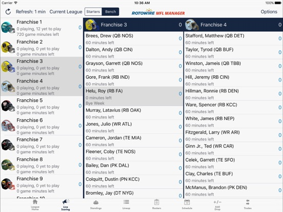 MyFantasyLeague Manager 2018 screenshot 7