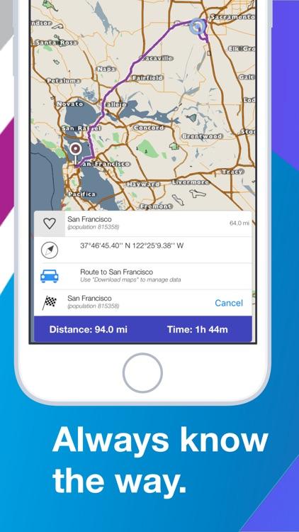 kMaps Offline Navigation&Maps screenshot-3