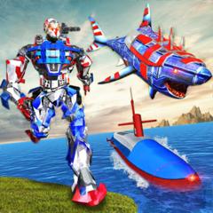 Robot Shark Submarine