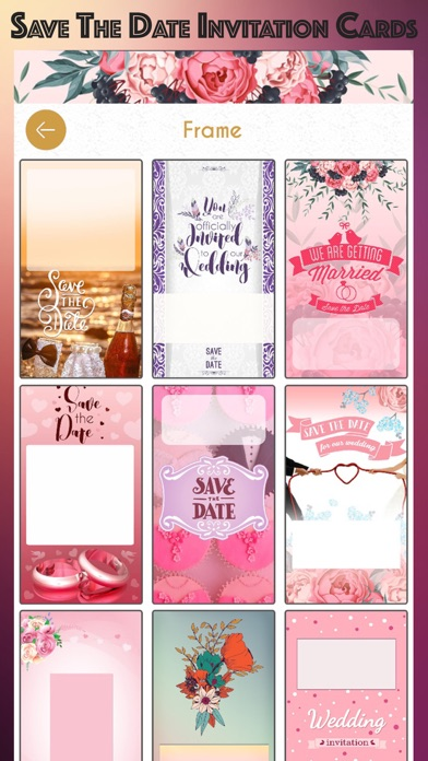 Save The Date Invitation Cards App Price Drops