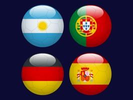 All Teams World Football Flags