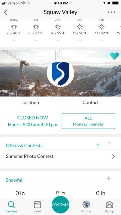 Snowledge: Ski & Snow Tracker screenshot-4