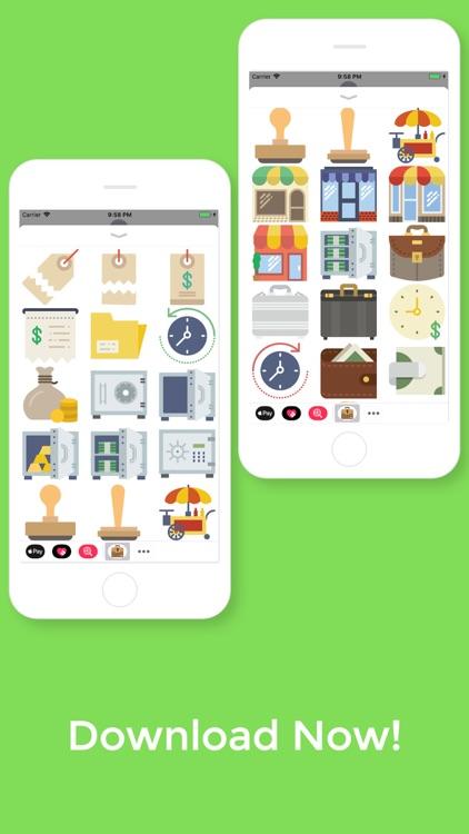Business Stickers screenshot-4