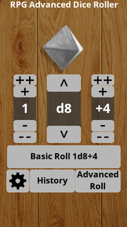 RPG Advanced Dice Roller Lite