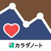 血圧ノート-血圧変化をスマホで記録!自動でグラフ化-