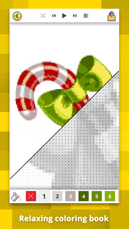 Pixel Art & Color by Number screenshot-0