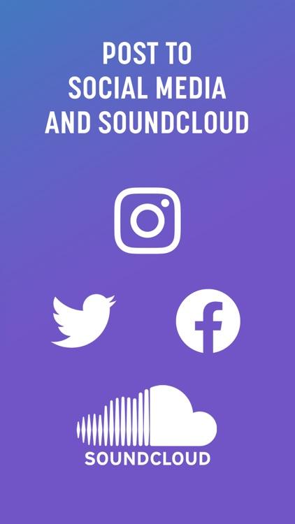 Spire: Music Recorder & Studio screenshot-4
