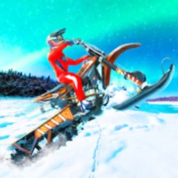 Snow Bike Hill Racing Game