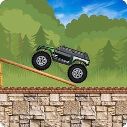 Crazy Monster Truck Stunt Race
