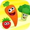 趣味食物! 2-5岁宝宝儿童早教教育游戏: 英语
