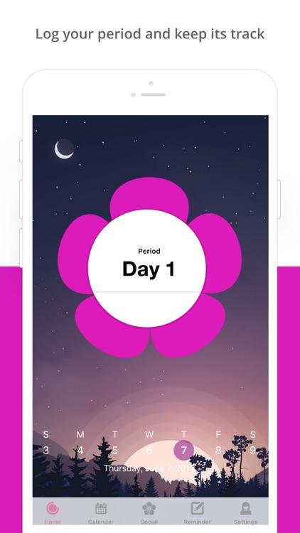 Period Tracker : Ovulation App