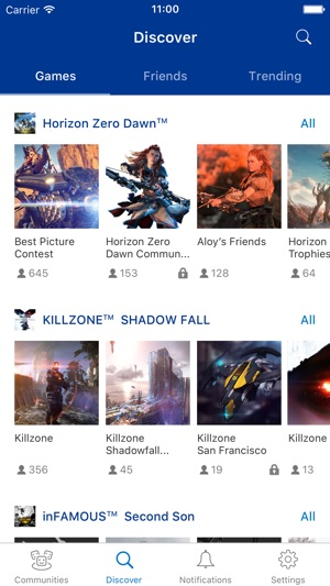 PlayStation Communities on the App Store