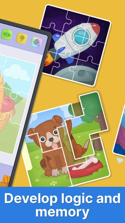 Bimi Boo puzzle games for kids screenshot-4
