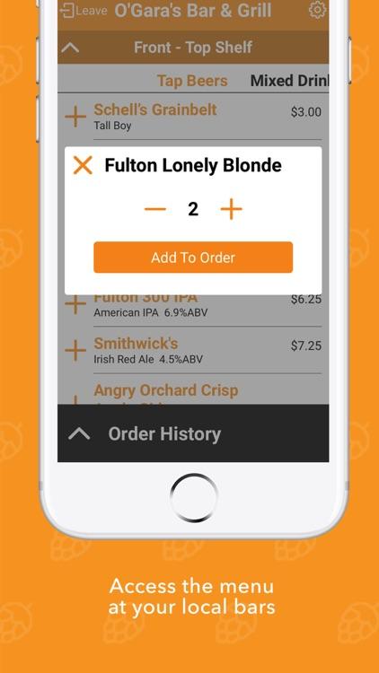 BarBud: Mobile Drink Ordering