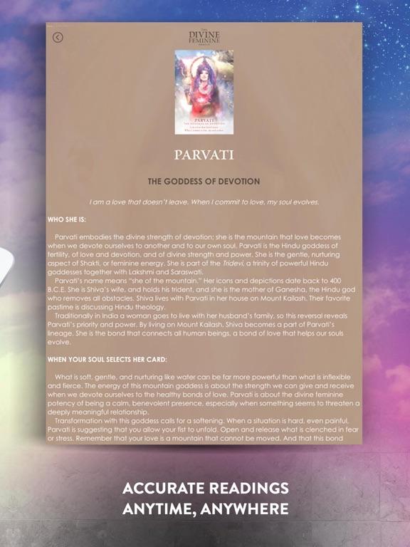 The Divine Feminine Oracle screenshot 10