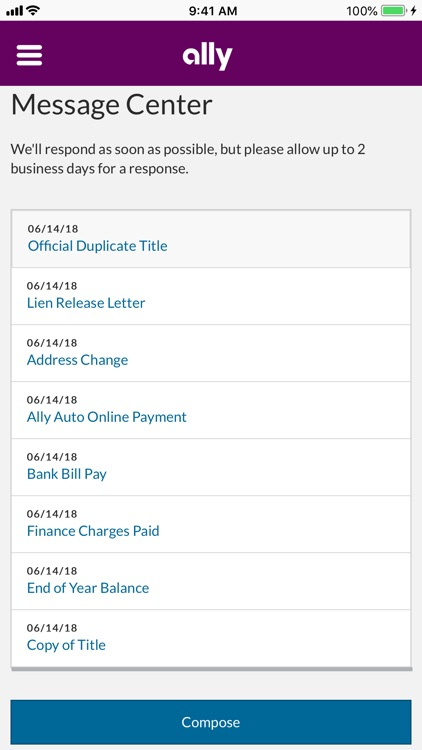 Ally Auto Mobile Pay screenshot-8