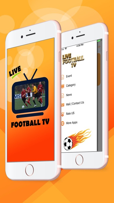 Screenshot for Live Football HD TV in United Arab Emirates App Store
