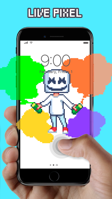 WOW Pixel - Live Wallpapers app image