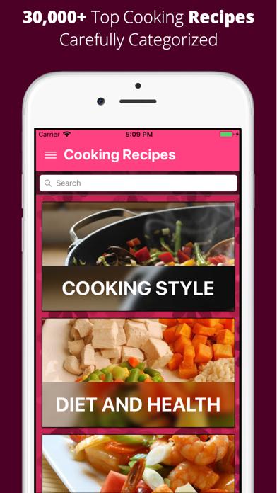 Recipe Book - 30K+ Top Recipes screenshot 1