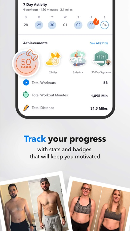 Openfit - Fitness & Nutrition screenshot-6