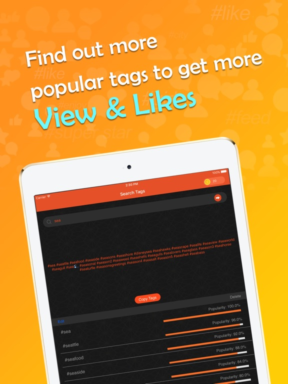 Super Likes for Popular Tags-ipad-3