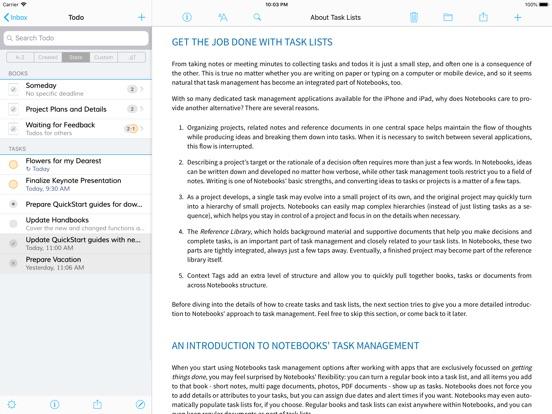 Screenshot #4 for Notebooks: Write and Organize