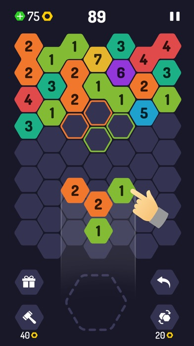Download UP 9 - Hexa Puzzle! for Pc